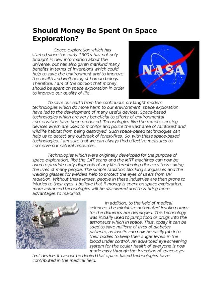 Space essays