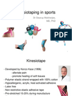 Kinesiotaping in Sports