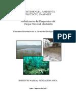 Diagnóstico del  Parque Nacional Machalilla