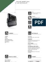 Motorola CLIQ - MOTOBLUR - Android Phone - Motorola USA