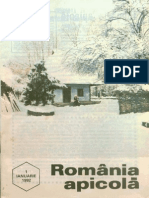 Romania Apicola 1992 Nr.1 Ianuarie