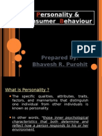 Personality & Consumer Behaviour