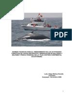 Informe Final Normas Técnicas  Buceo Pesca Vivencial y Observ Ballenas
