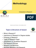 1Introduction to Research1
