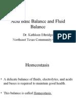 Acid Base Balance Fluid Balance