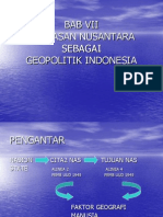 Bab Vii Wawasan Nusantara