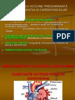 Medicamente Inotrop Pozitive(Curs7)