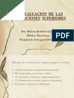 examen EVAL  DE  LAS FUNCIONES SUPERIORES.ppt