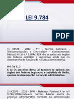Direito Administrativo em Exercícios - Lei 9.784-99 - Exercícios - Aula 03