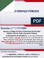 Ética - Aula 04 - Ética no Serviço Público