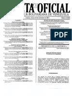 Gaceta 40305 Del 29112013 Arrendamiento de Locales y Similares