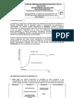 7.DETERMINACIÓN DE LA CURVA DE CRECIMIENTO Y EL EFECTO DE FACTORES AMBIENTALES EN UN CULTIVO BACTERIANO