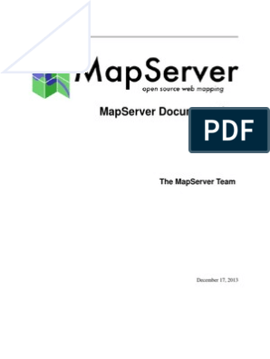 MapServer pdf | Computing | Technology