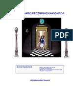 Diccionario de Terminos Masonico Autor Marcial Romero de Arcas