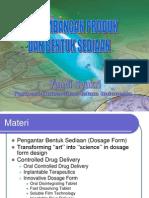 1. Perkembangan Bentuk Sedian Farmasi