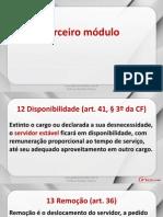Lei 8112 - Aula 04 - Disponibilidade e Reposição e Indenização ao Erário