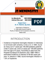 Case Report Serous Meningitis