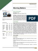 SG MorningMatters 25 Jan 13