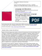 Learning an Additional Language Through Dialogic Inquiry
