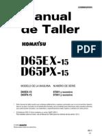 Manual de Taller ESP. D65EX Y PX -15