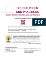 EDUC2201 Course Tools and Practices