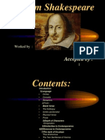 The Style of Shakespeare