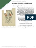Catequesis para niños_ Alfabeto del niño Jesús - Enciclopedia Católica