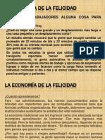 La Economía de la Felicidad. Bruno S. Frey