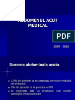 Abdomenul Acut Medical