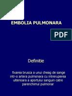 Curs Embolia Pulmonara