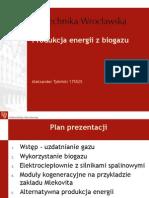 Produkcja Energii z Biogazu