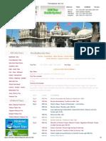 Panchadwaraka Yatra Tour