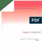 Fekete Harmony Ref Manual