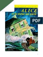 Caroline Quine Alice Roy 14 BV Alice Et La Statue Qui Parle 1937