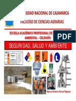 Seguridad  Salud y Ambiente CAPÍTULO XV SEÑALIZACIÓN II