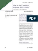 2010 Nobel Prize - Palladium-Catalysed Cross-coupling