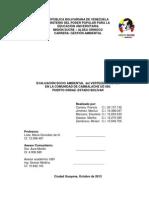 Evaluacion Socio Ambiental Cambalache Nuevo Octubre