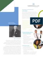 Alfred Fleishman Diversity Fellowship Program Handout 2013 - 2014