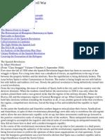 Essays on the Spanish Civil War   Albert Weisbord
