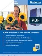 Buderus Thermal Solar Systems  Brochure