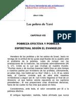 POBREZA EFECTIVA Y POBREZA ESPIRITUAL SEGÚN EL EVANGELIO