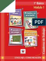 Cuadernillo del alumno 1 básico lenguaje AYUDA PARA EL MAESTRO