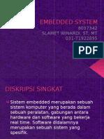 Embedded Sistem