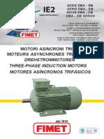 Fimet_ac Motors Ie2 Serie Ema-em_i-e