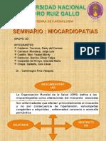 SEMINARIO MIOCARDIOPATIAS