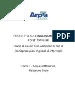 ARPA Progetto Sull2019 Inquinamento Da Fonti Diffuse