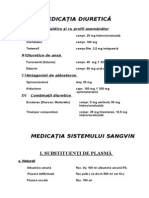11.Medicatia Diuretica Si a Singelui