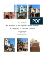 Midtown St. Joseph Neighborhood Revitalization Analysis