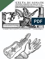 Pico Foriano - Sonate Chitarra Spagnola del  1608