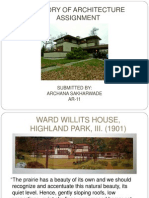 works of FLW, ward willits house case study